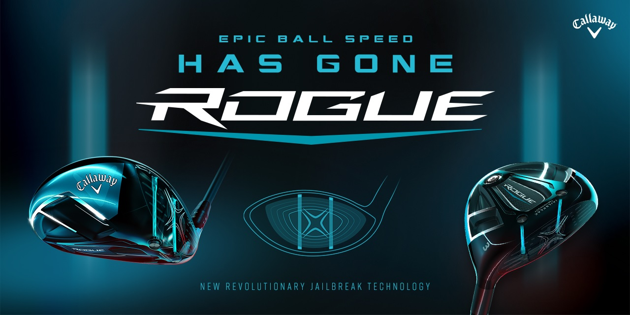 Callaway Rogue Ball Speed Banner