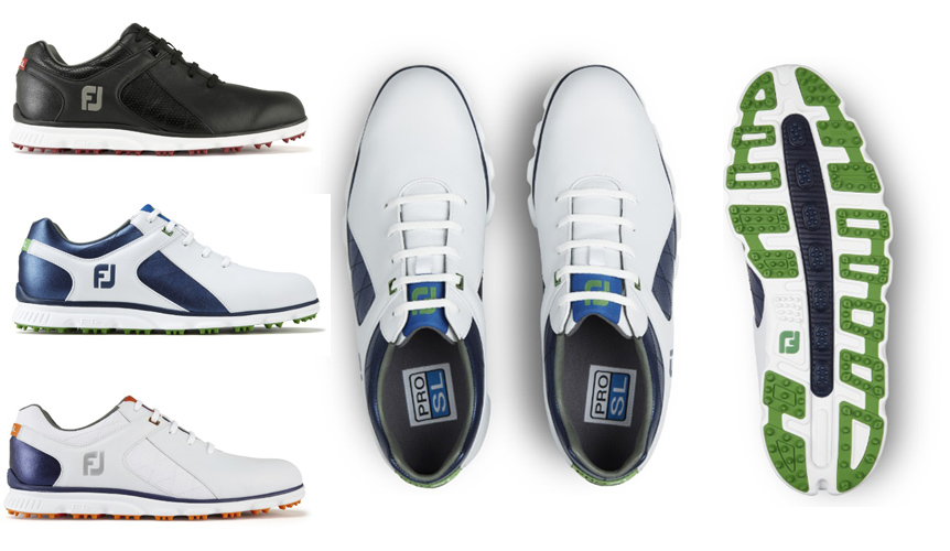Footjoy Pro SL Colour options
